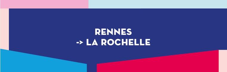 Einfache Busfahrt | Rennes nach La Rochelle