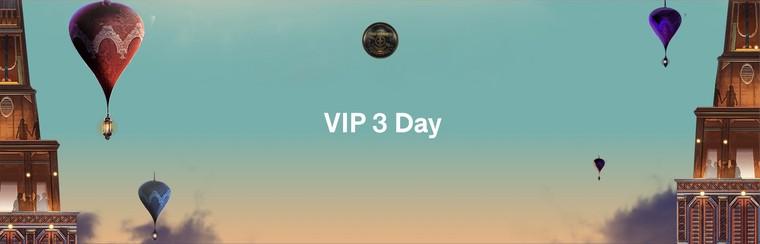 VIP 3 Dagen Ticket