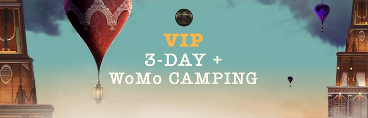 VIP 3-Day Pass + WoMo Camping