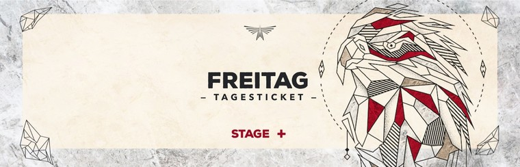 Friday Day Stage Plus Ticket