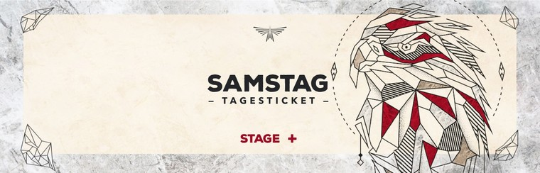 Saturday Day Stage Plus Ticket
