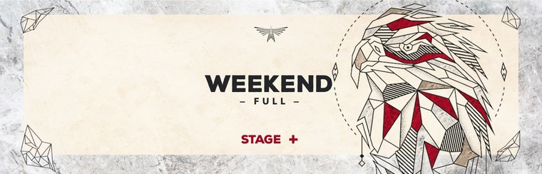 Full Weekend Stage Plus Ticket