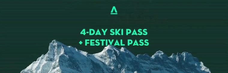 4-Day Ski Pass + Festival Pass