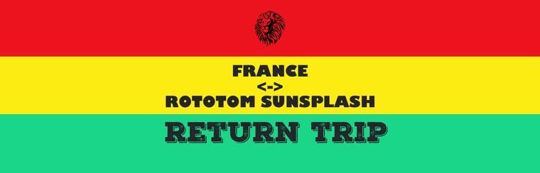 France <-> Rototom Sunsplash Return Trip