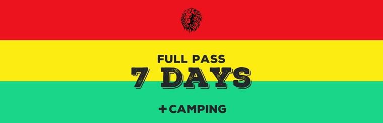 Full Pass 7 Days + Camping