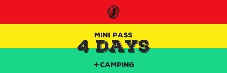 Mini-Pass 4 Days + Camping