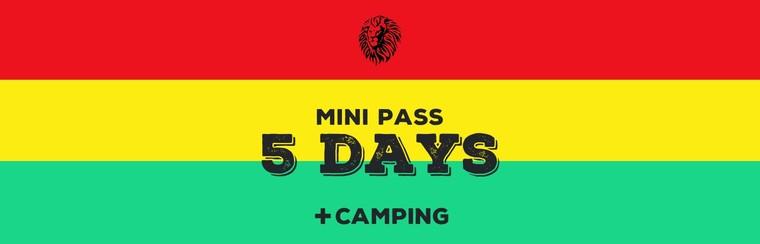 Mini-Pass 5 Days + Camping