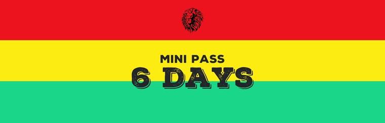 Mini-Pass 6 Days