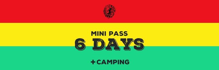 Mini-Pass 6 Days + Camping