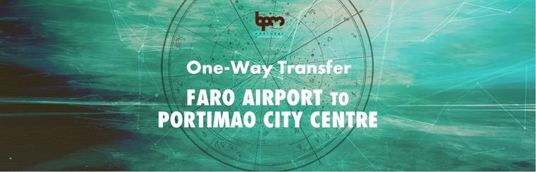 I'Way One-Way Transfer - Faro Airport to Portimao City Centre