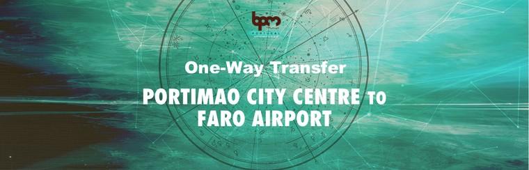 I'Way One-Way Transfer - Portimao City Centre to Faro Airport