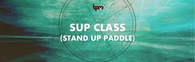 Aula de SUP (Stand Up Paddle)
