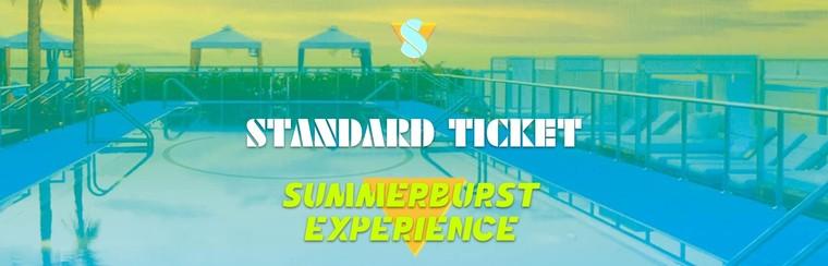 Standard Ticket - Summerburst Experience (18+ Years)
