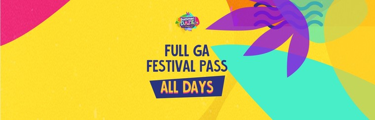 Full GA Festival Pass (All Days)