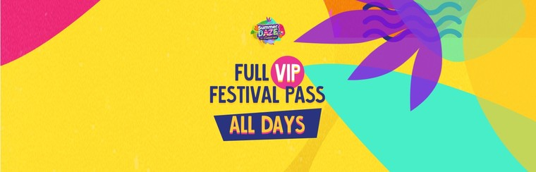 Full VIP Festival Pass (All Days)