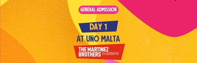 GA Day 1 Ticket at UNO Malta
