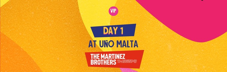 VIP Day 1 Ticket at UNO Malta
