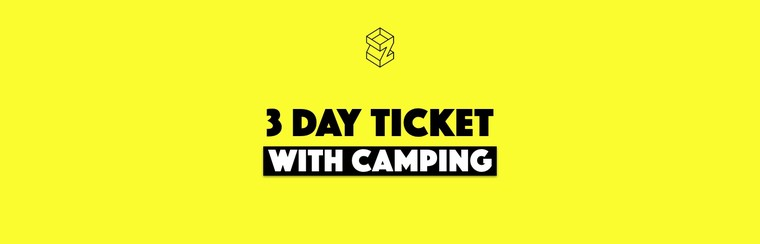 3-Day Pass with Camping