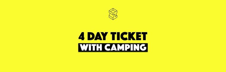 4-Day Pass with Camping