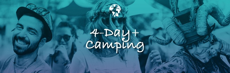 4 Day Pass + Camping