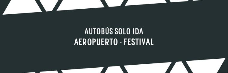 One-Way Coach Travel | Vigo Airport -> Festival Venue