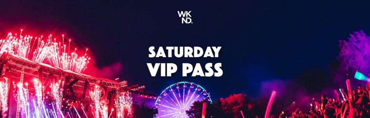 Saturday VIP Pass