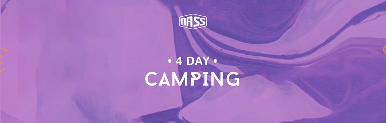 4 Day Camping Ticket