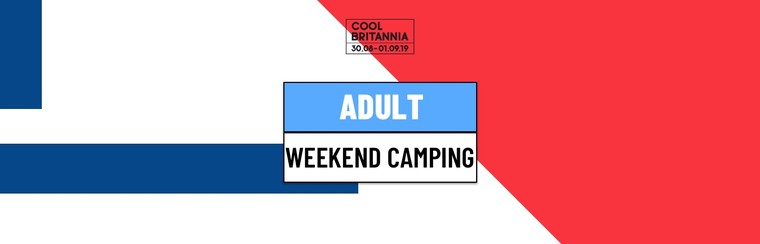 Adult Weekend Camping Ticket