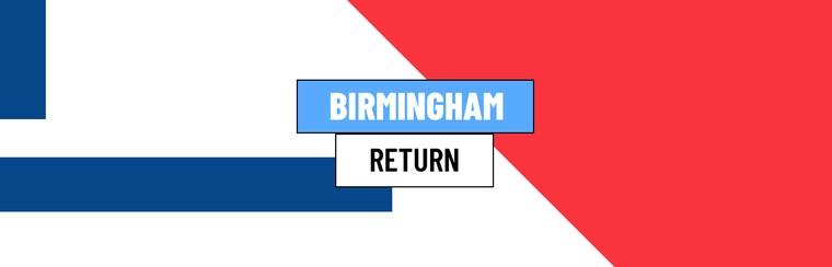 Birmingham Return Coach
