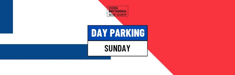 Day Parking Ticket - Sunday