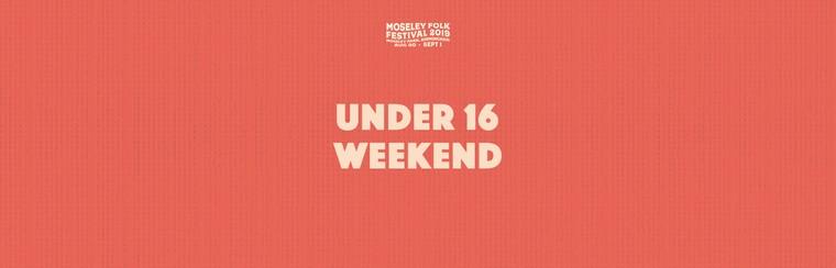 Under 16 Weekend Ticket