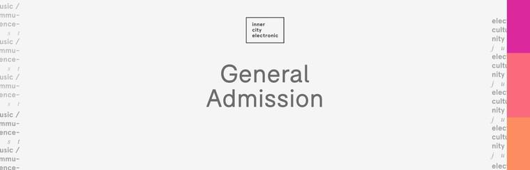 Entrada Admisión General