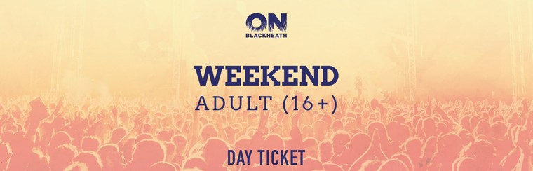 Adult (16+) Weekend Ticket
