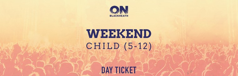Child (5-12) Weekend Ticket