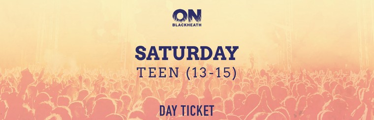 Teen (13-15) Saturday Day Ticket