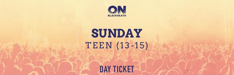 Teen (13-15) Sunday Day Ticket