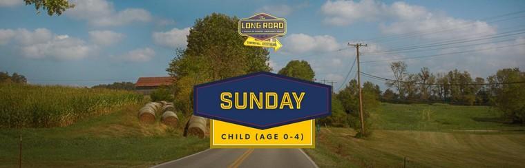 Sunday Child Ticket (Age 0-4)