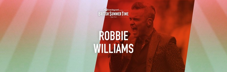 Robbie Williams - Standard-Ticket | 14. Juli