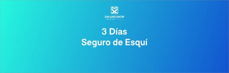 3-Day Ski Insurance - Mandatory for Non-Spanish Citizens