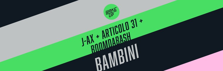 Child Ticket | J-Ax + Articolo 31 + Boomdabash - 14 September