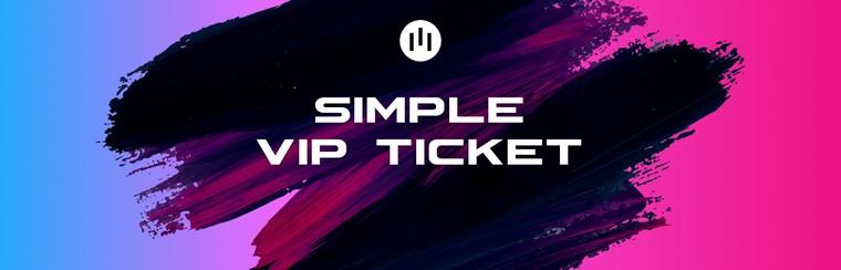 Vstupenka Simple VIP
