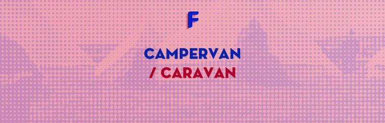 Campervan/Caravan Ticket