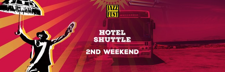 Hotel to Festival Shuttle Pass - Weekend 2