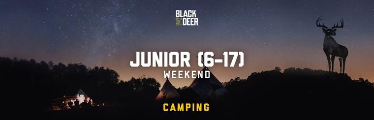 Junior (6-17) Weekend Camping Ticket