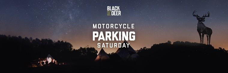 Saturday Motorcycle Parking Pass