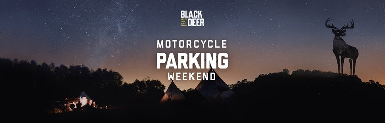 Weekend Motorcycle Parking Pass