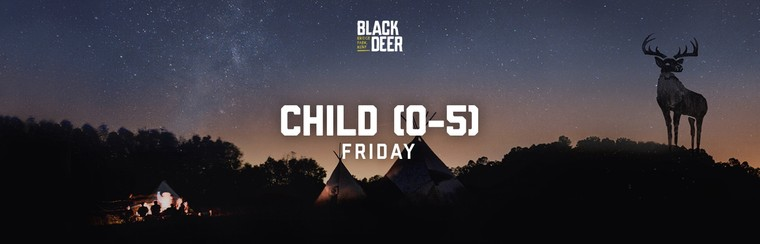 Child (0-5) Friday Ticket