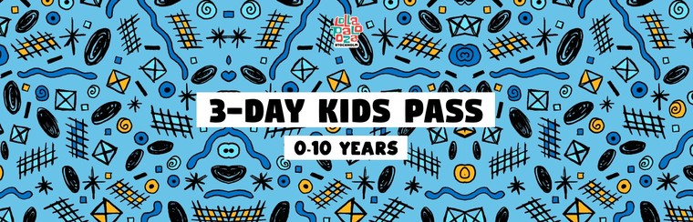 3-Day Kids Festival Pass (0-10 Years)