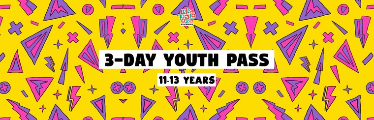 3-Day Youth Festival Pass (11-13 Years)