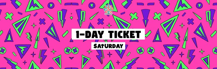Saturday Day Ticket
